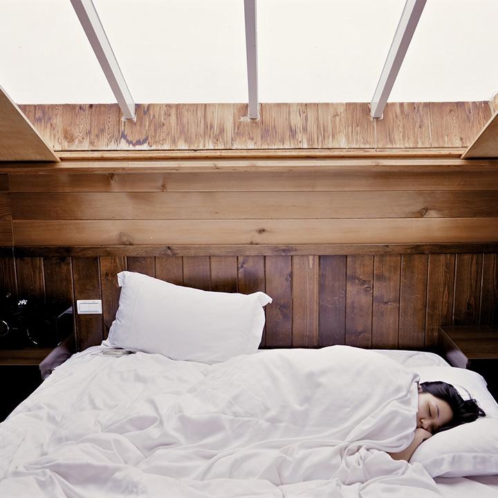 1日の疲れをリフレッシュする睡眠